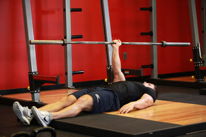 One Arm Floor Press Exercise Guide And Video