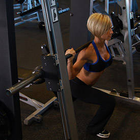Smith Single Leg Split Squat Exercise Guide And Video