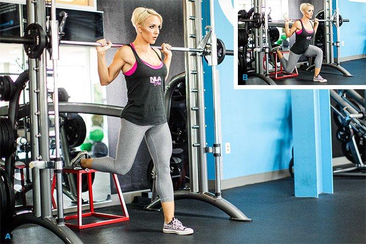 Legs Like Jessie S Hilgenberg S 7 Move Workout