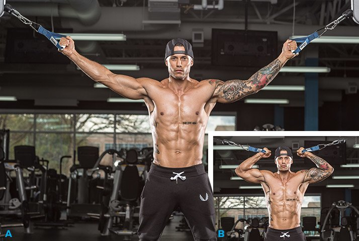 Mike Vazquez S Strong And Shredded Arm Workout
