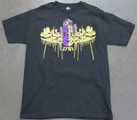Custom T Shirts  Screen Printing  Custom T Shirt Company  Customized     gold metallic drips shirt