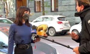 Tapiro ad Ambra per la fine con Allegri: è bufera contro Striscia