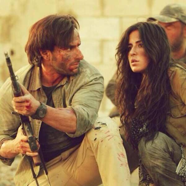 Will Katrina Kaif and Saif Ali Khan go underwater for ...