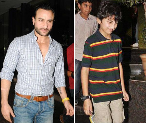 Saif Ali Khan's son Ibrahim spotted at screening of Happy ...