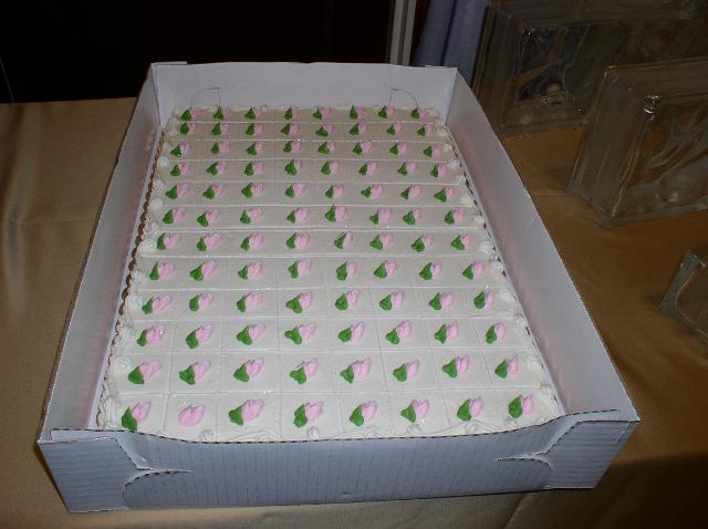 Bonnie Belles Pastries WEDDING CAKES pink and green sheet cake pink and green sheet cake JPG