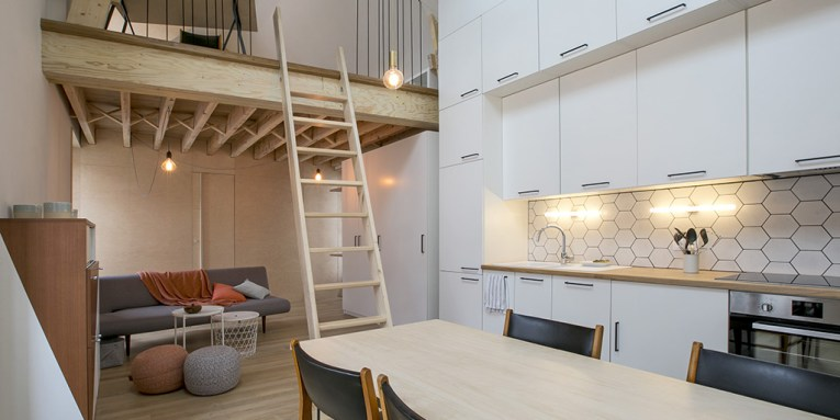 Renovation and redesign of a small terraced house in Paris 19th     Renovation and redesign of a small terraced house in Paris 19th  arrondissement