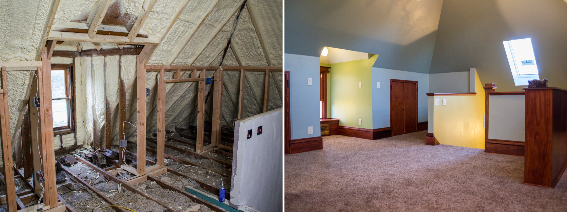 Victorian Attic Remodel Madison Wi Boom Brothers