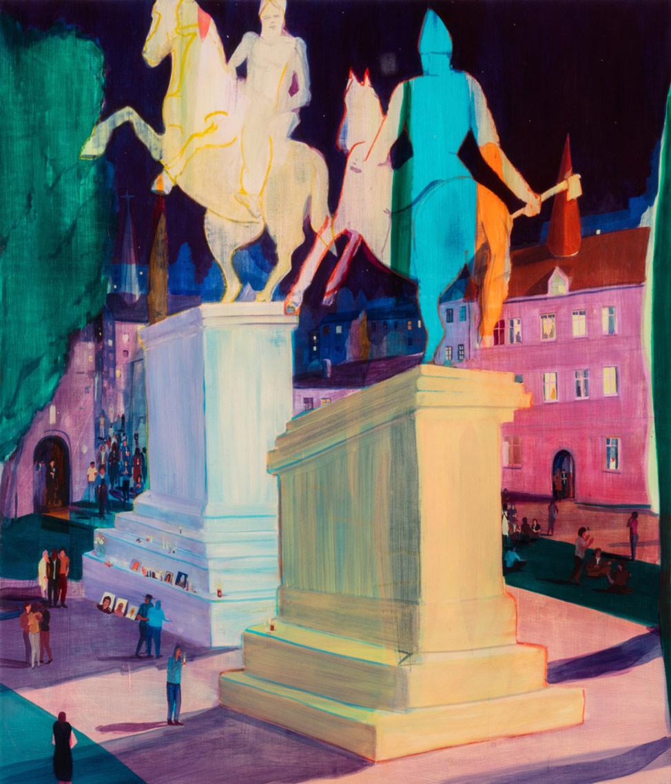 Artist Spotlight Jules De Balincourt Booooooom