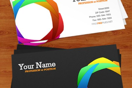 20  Free Photoshop Business Card Templates Business Card PSD Template
