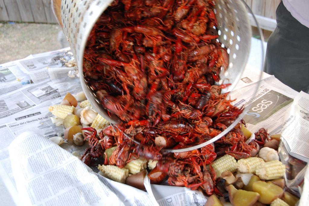 Swedish Crayfish Party 2014 At Ikea Paramus