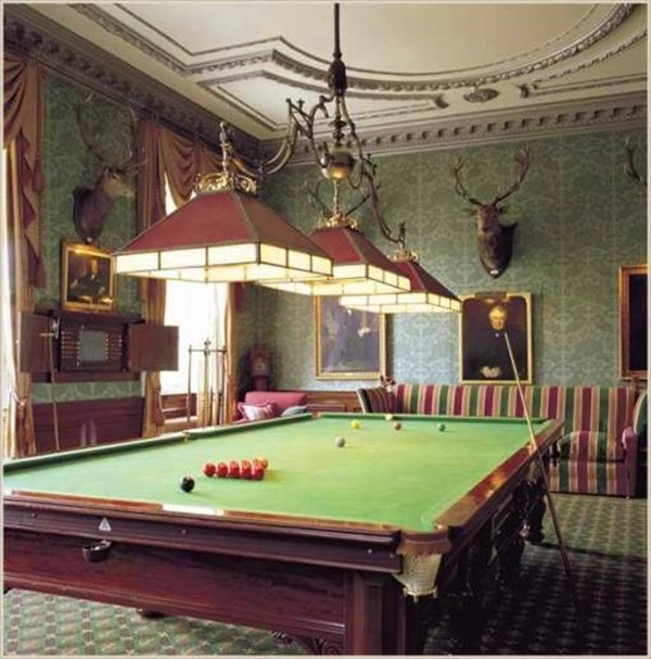 Decorating Pool Game Room Table Ideas