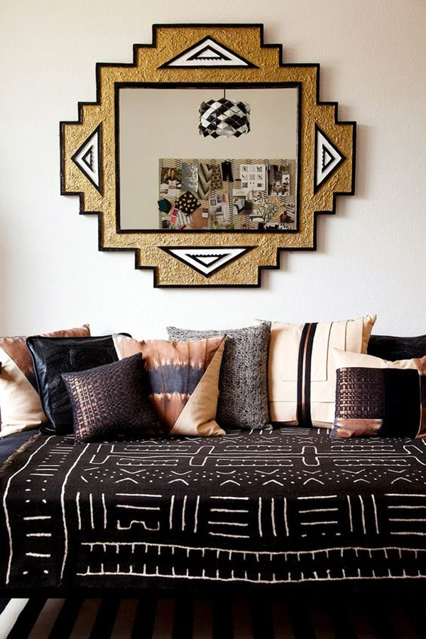 Living African Inspired Room