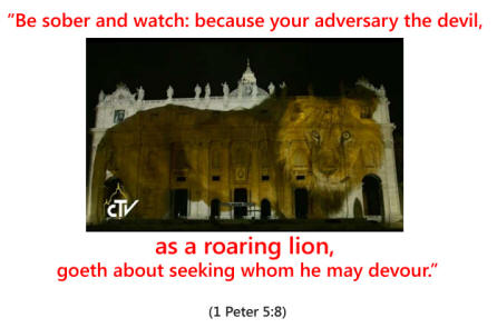 """The Vatican, Pope Francis, and the """"Light Show"""" ... minus ..."""