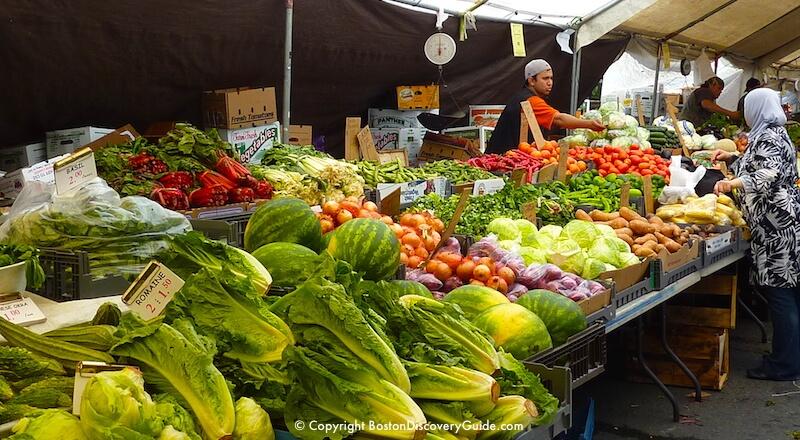 Boston Fresh Produce Market