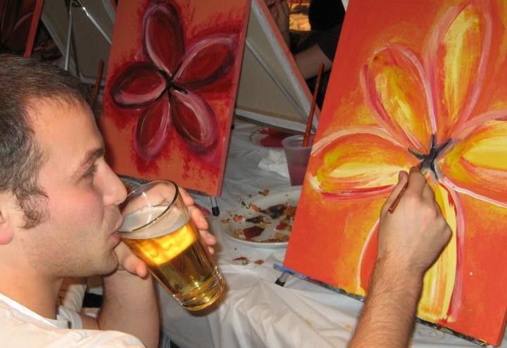 Paint And Drink Places