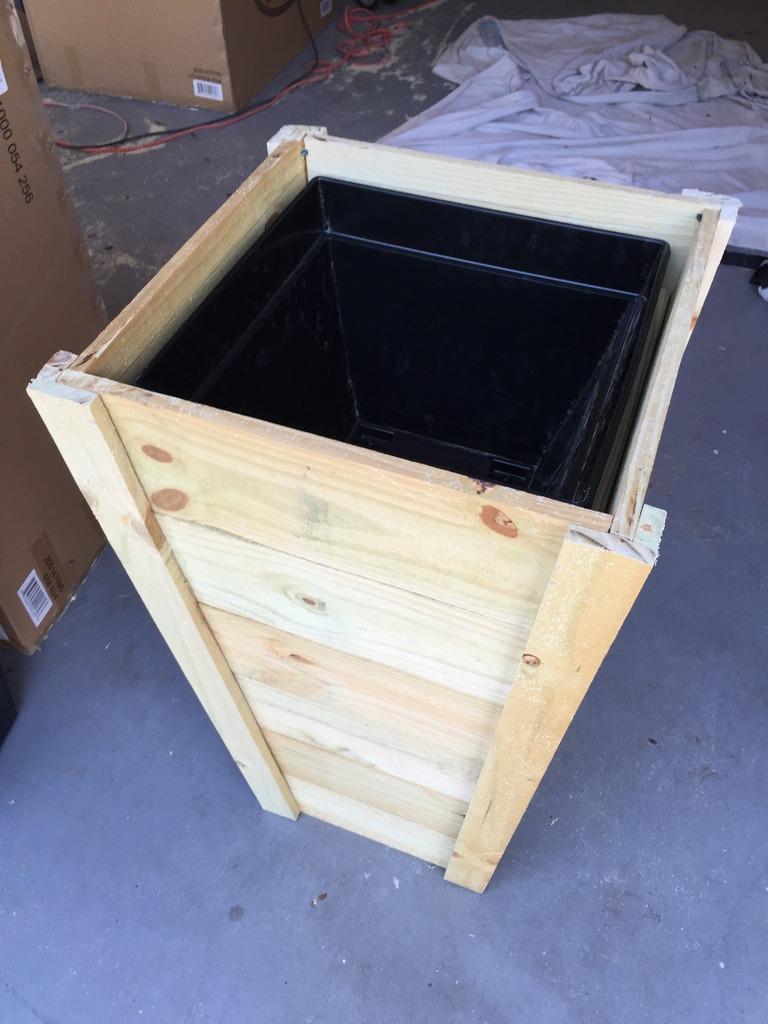 Tall Planters Box