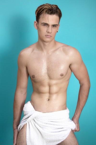 Towel Boy: Dylan By Verner Degray - boy culture