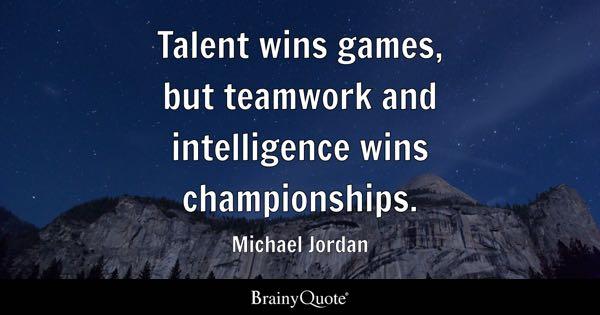 Image of: Unity Teamwork Quotes Brainy Quote Teamwork Quotes Brainyquote