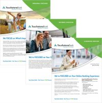 Touchstone Bank in VA and NC Product Sheets