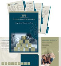 TFB Wealth Management Services in Warrenton VA Personal Financial Planning folder and inserts
