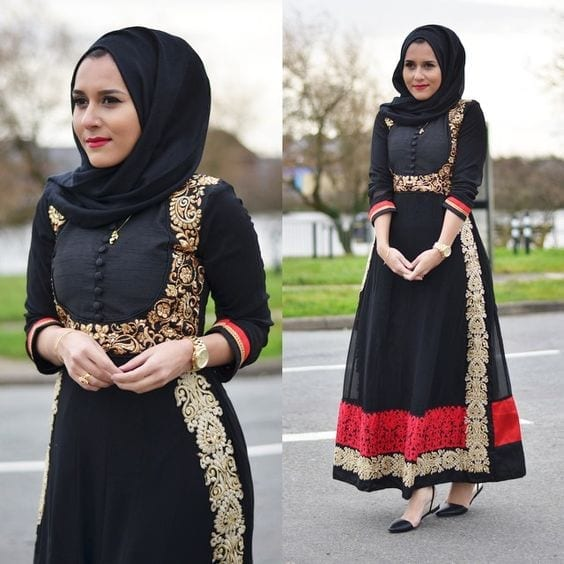 Ways To Wear Hijab With Indian Ethnic Wear