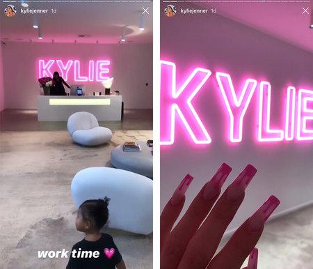 Kylie Jenner Gets New Work Office See Design Decor