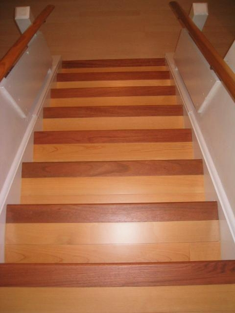 Stairs Treads And Risers Hardwood Floor Accessories By | Hardwood Stair Treads And Risers | Stained | Maple | Hickory | Red Oak | New