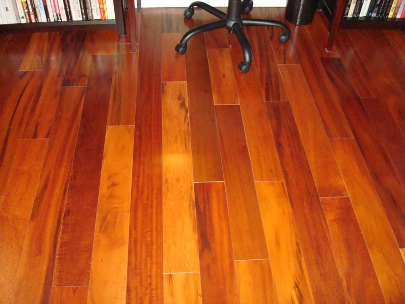 Solid 3 4 Brazilian Koa Tigerwood Goncalo Alves Flooring By   Brazilian Koa Stair Treads   Brazilian Cherry   Wood   Tigerwood   Stair Nose   Risers