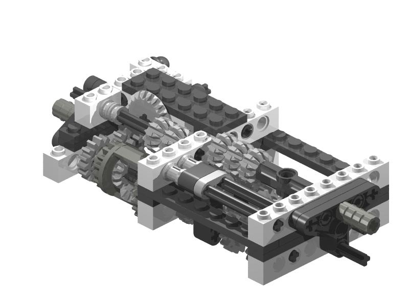 TechnicBRICKs  TBs TechTips 004   Automatic gearboxes Friday  December 28  2007
