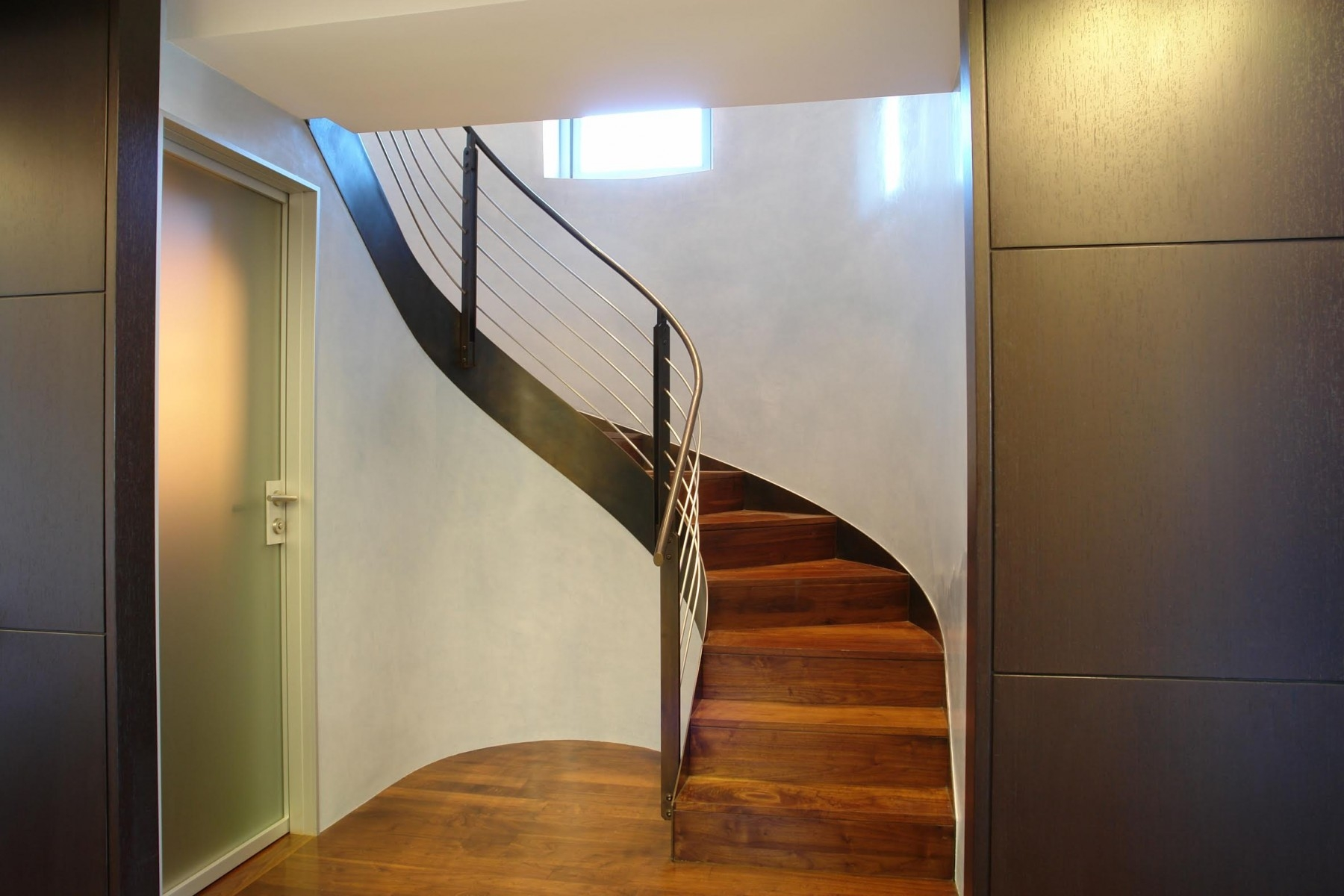 Spiral Staircase Alternatives For Your Nyc Duplex Renovation   Building A Curved Staircase   Indoor   36 Inch Diameter   Garage   Circular   Outside