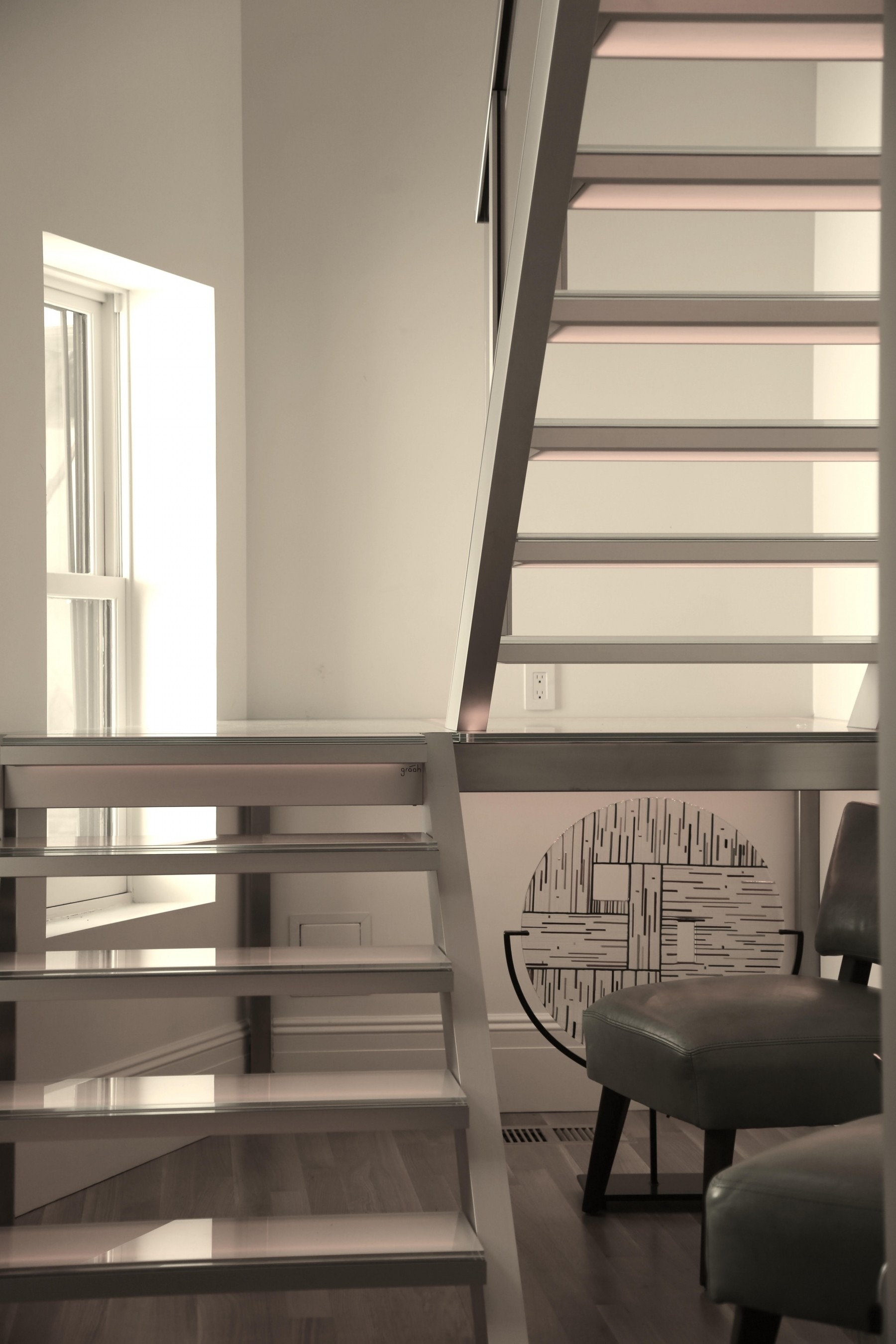 Spiral Staircase Alternatives For Your Nyc Duplex Renovation   Converting Spiral Staircase To Straight   Wood   House   Stair Case   U Shaped   Loft Conversion