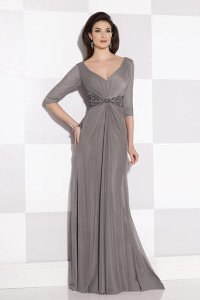 The Most Flattering Mother of the Bride Dresses   BridalGuide mon cheri mother of the bride dress