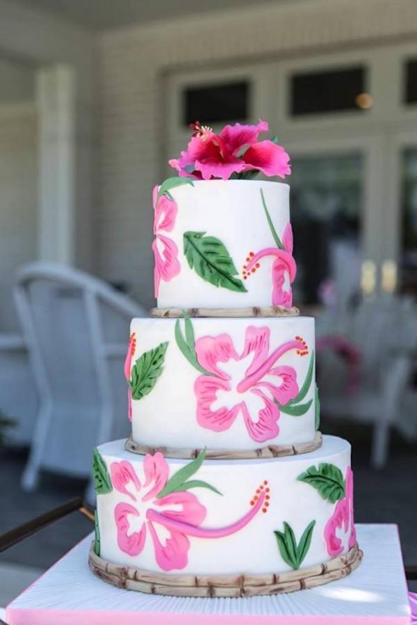 Tropical Flamingo Bridal Shower Bridal Shower Ideas Themes