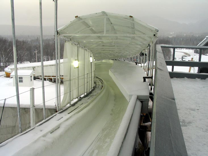Map Lake Placid Olympic Venues
