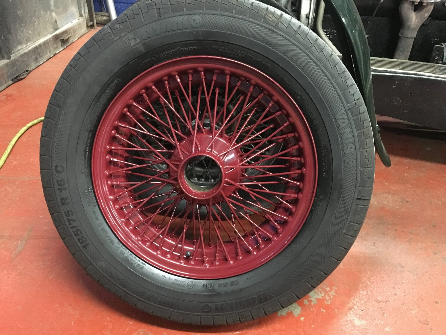 Transforming The Look Of The Wire Wheels Bridge Classic Cars Bridge Classic Cars