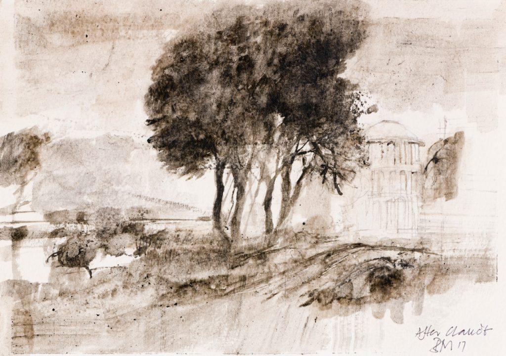 Drawings In Sepia And Indian Ink Bridget Macdonald