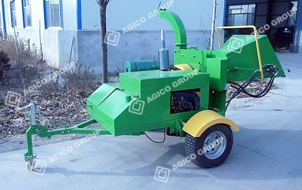 Small Wood Chipper