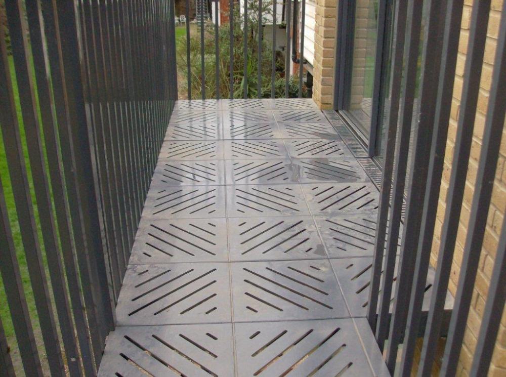 Balcony Ideas Star And Diamond Decking Plates