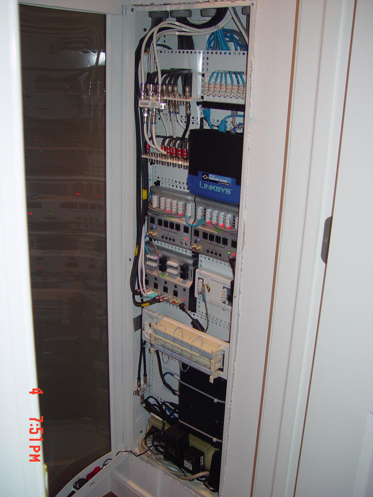 Residential Structured Wiring Home Panel Best Kitchen Gallery Rachelxblog Av Rack Com Ge
