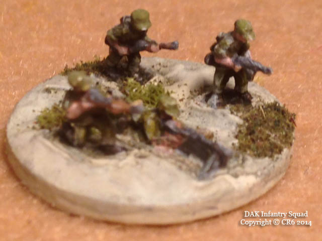 Painting 6mm Figures