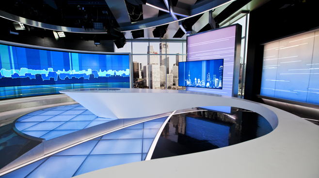 Cctv Int L Studio C5 Set Design News Sets Broadcast
