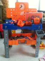 For Sale Kids Home Depot Work Bench With Power Tools