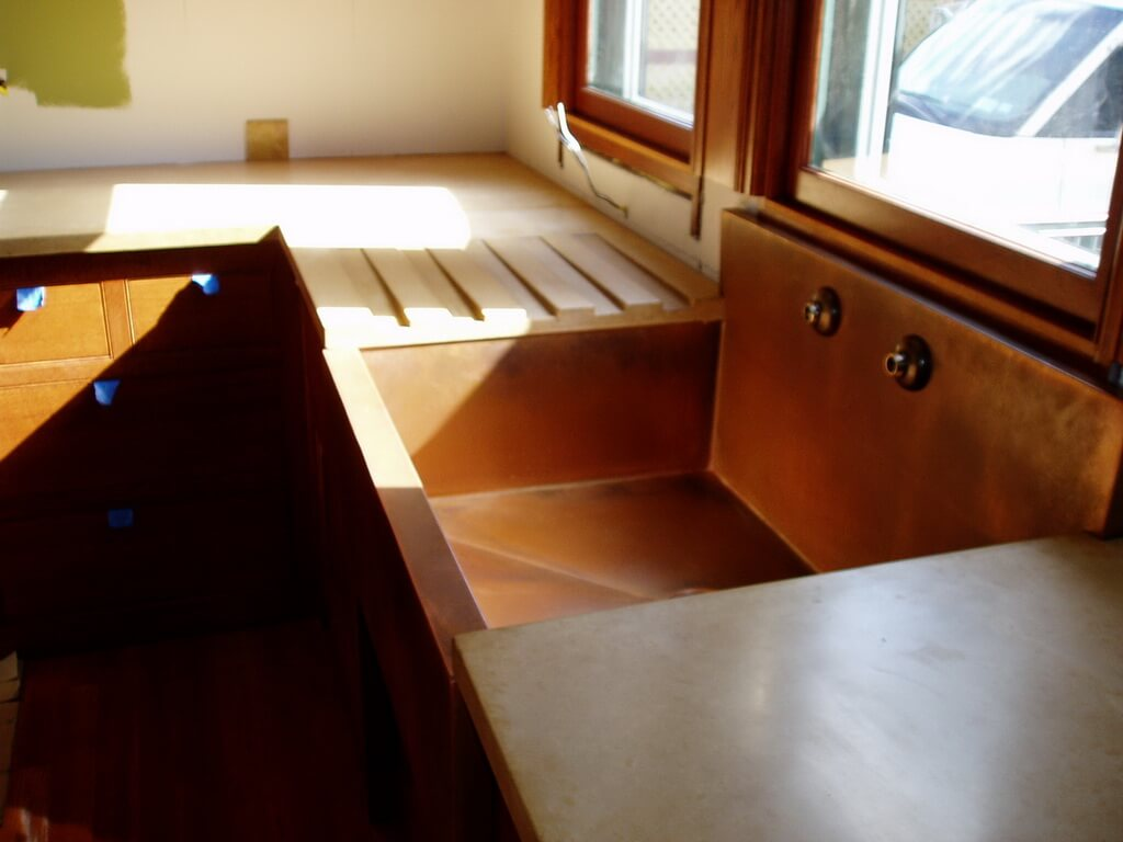 Copper Countertops Hoods Sinks Ranges Panels By Brooks