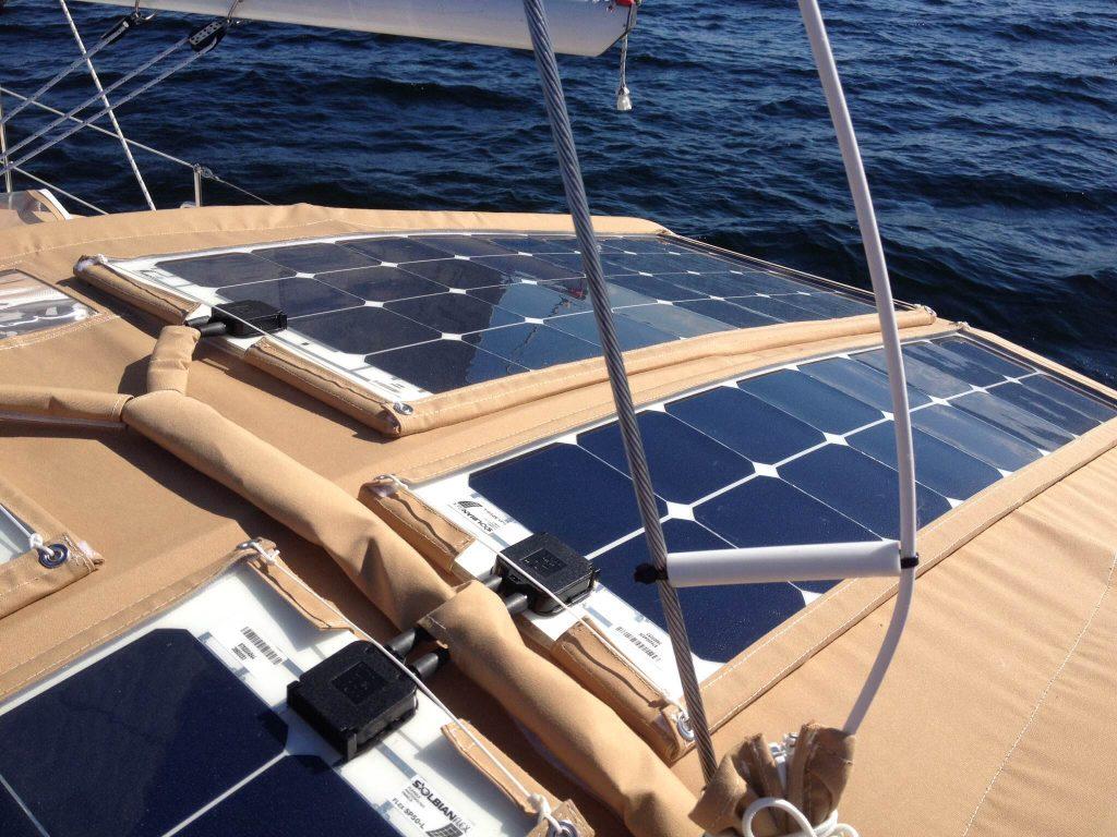 Marine Flexible Solar Panels