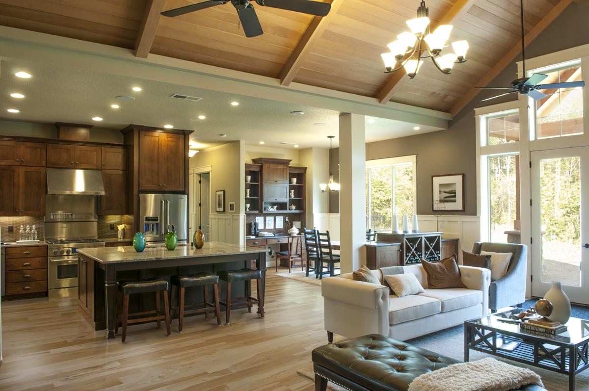 Kitchen Great Room Floor Plans