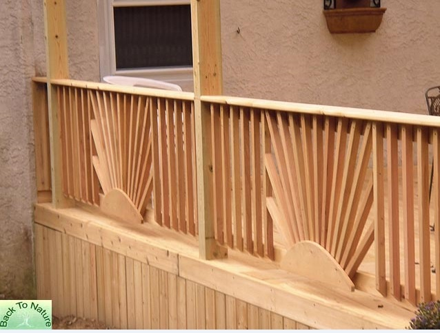 Decks Pa With Custom Steps Privacy Walls Gates Ramps