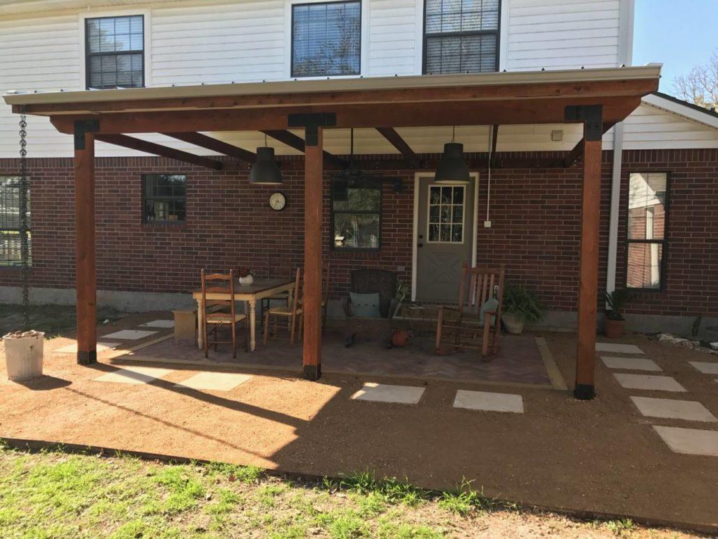 Porch Cover Pergola Amp Shade Arbor In College Station