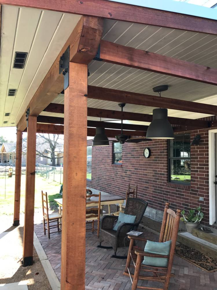 Porch Cover Pergola Amp Shade Arbor In College Station
