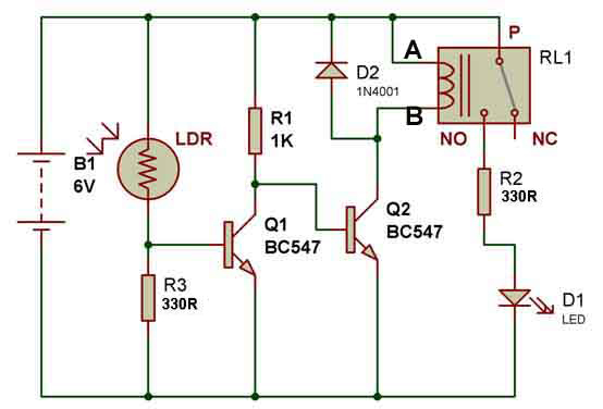 12 Volt Resistor Diagram