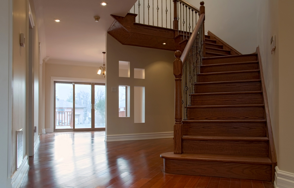 Installing Hardwood On Stairs A Step By Step Guidelearning Center | Flooring For Stairs Not Carpet | Stair Tread | Stain | Staircase Makeover | Bullnose Carpet | Laminate Flooring